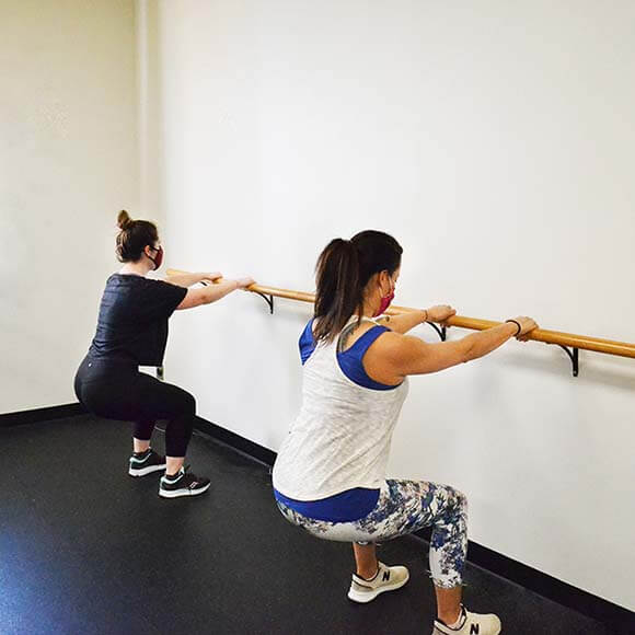 PUSH Fitness Group Class Barre