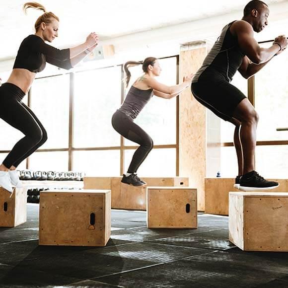 PUSH Fitness Group Class Circuit Training